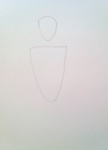 нарисовать человека поэтапно