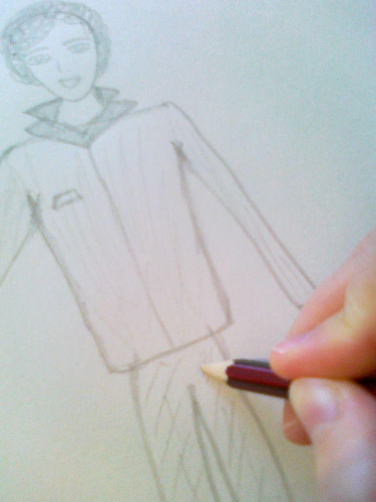 как рисовать человека поэтапно: