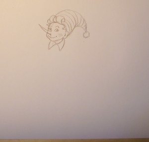 как нарисовать буратино поэтапно карандашом