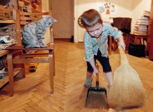 ребенок и порядок приучить