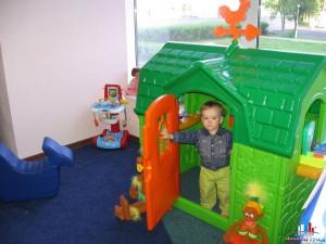 игровая комната в саду