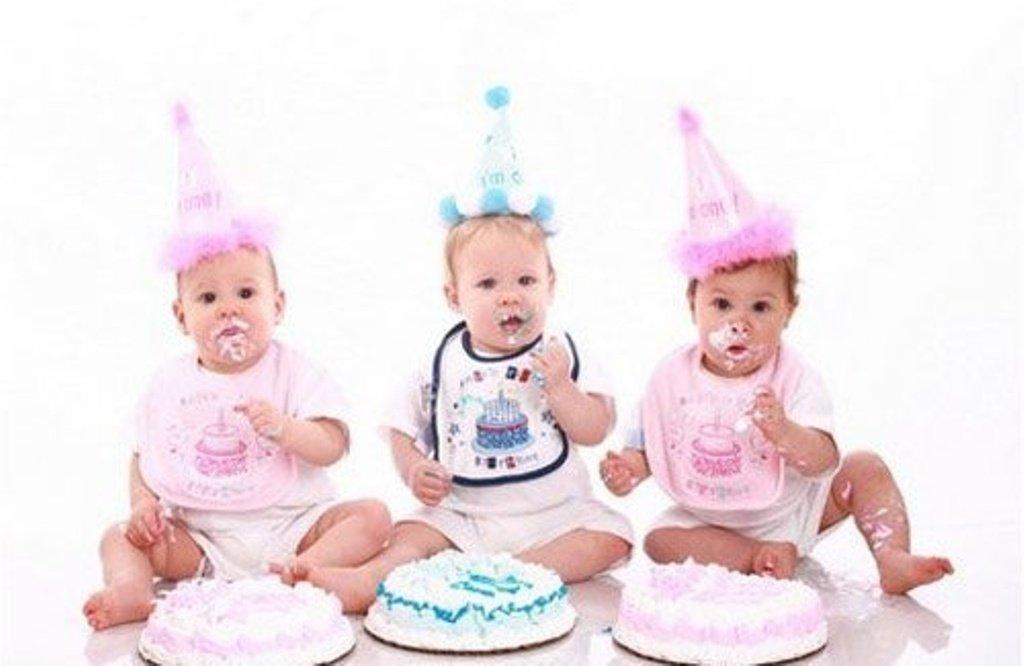 Поздравление с днем рождения тройняшкам фото 171