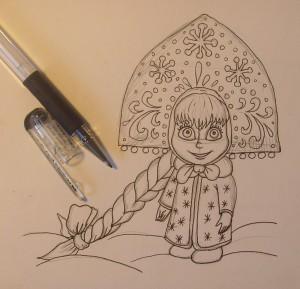Маша карандашом