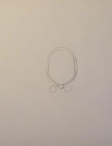 как нарисовать Машу поэтапно