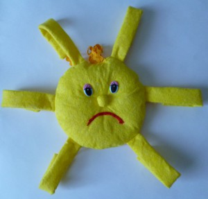 поделка солнышко своими руками