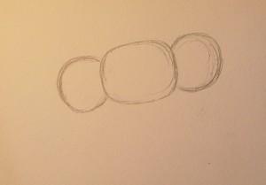 как нарисовать чебурашку поэтапно