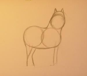 как нарисовать пони поэтапно карандашом