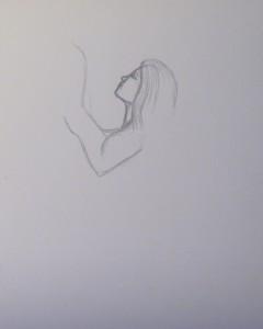 как нарисовать русалку