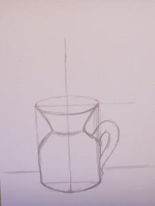 как нарисовать вазу с цветами поэтапно карандашом