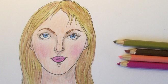 Как нарисовать самое простое лицо