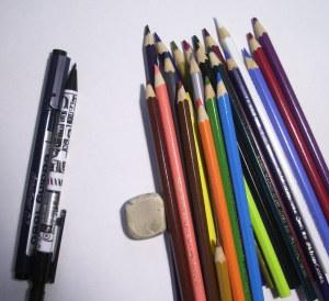 как нарисовать подснежники