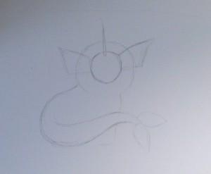 как нарисовать покемона поэтапно