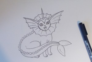 как нарисовать покемонов поэтапно карандашом