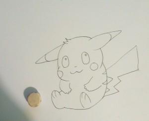 как нарисовать пикачу карандашом