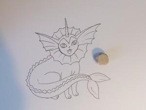 нарисованные покемоны карандашом