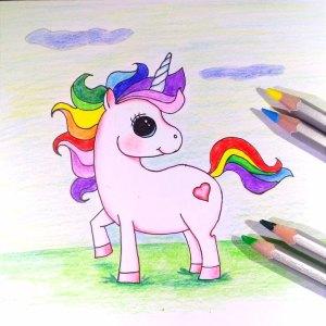 как нарисовать единорога