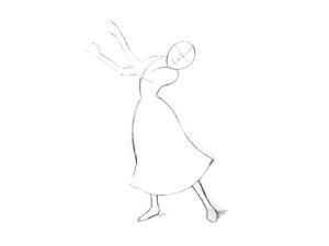 как нарисовать Рапунцель поэтапно