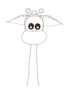 как рисовать жирафа